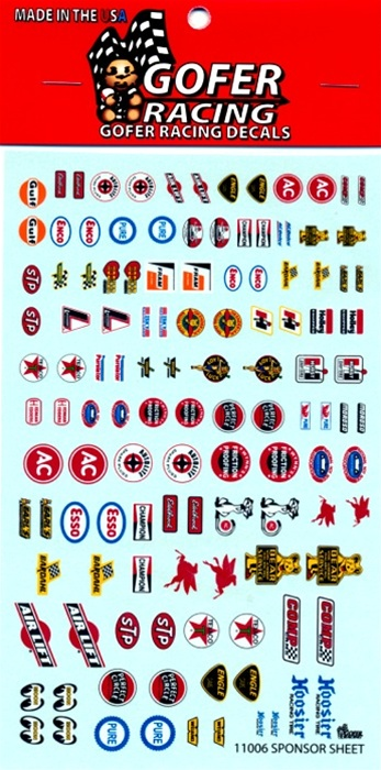 Decals Sponsor sheet decals 1/24