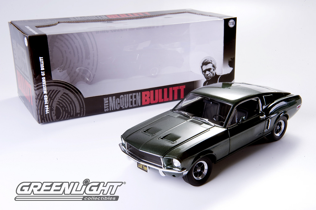 Greenlight 1/18 Bullitt (1968) - 1968 Ford Mustang GT Fastback