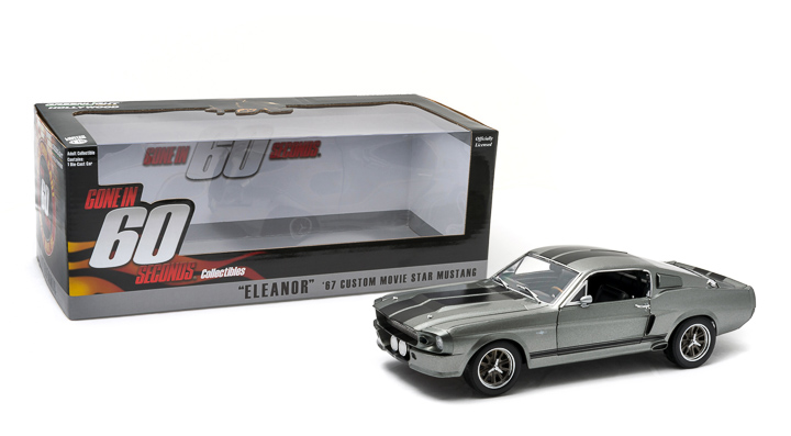 Greenlight 1/18 Gone in 60 Seconds (2000) 1967 Ford Mustang
