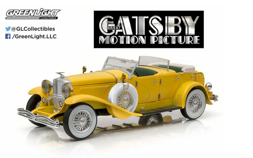Greenlight 1/18 The Great Gatsby 2013 Duesenberg II SJ