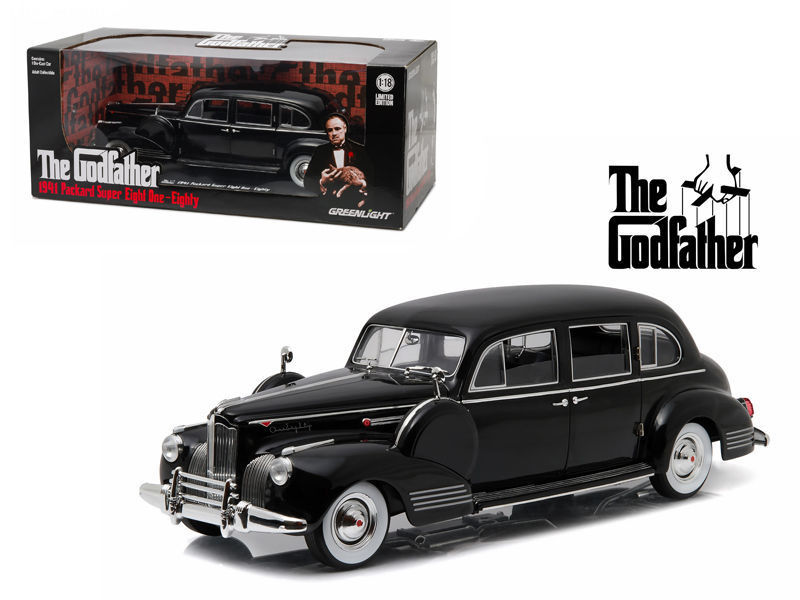 Greenlight 1/18 The Godfather (1972) - 1941 Packard Super Eight