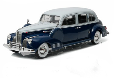 Greenlight 1/18 1941 Packard Super Eight One-Eighty - Silver Fre