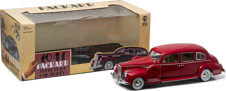 Greenlight 1/18 1941 Packard Super Eight One-Eighty - Red