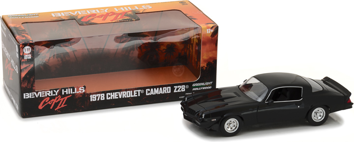 Greenlight 1/18 Beverly Hills Cop II - 1978 Chevrolet Camaro Z28