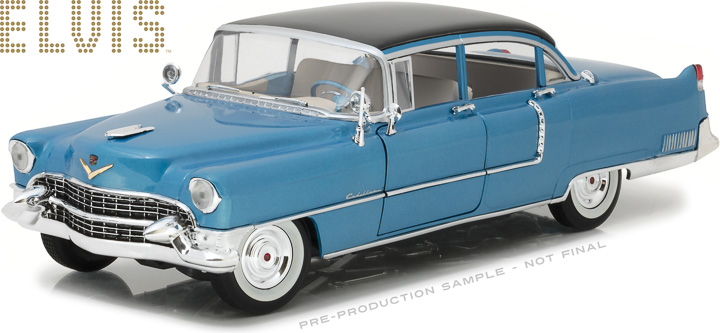 Greenlight 1/18 Elvis Presley (1935-77) - 1955 Cadillac Fleetwoo