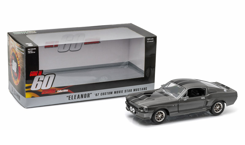 Greenlight 1/24 1967 Ford Mustang Eleanor - Gone in 60 Seconds