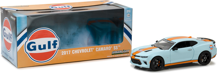 Greenlight 1/24 2017 Chevy Camaro SS Gulf Oil