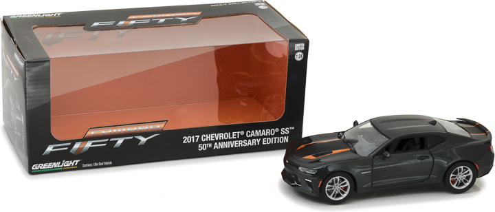 Greenlight 1/24 2017 Chevy Camaro SS 50th Anniversary Edition