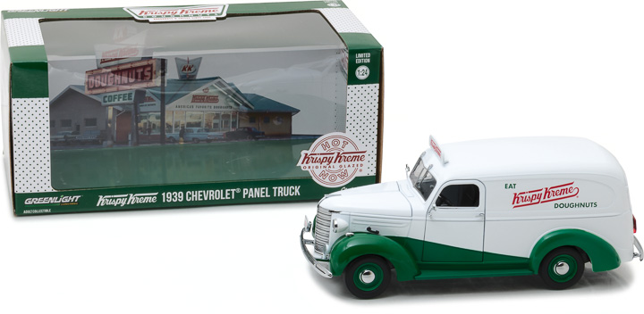"Greenlight 1/24 Running on Empty - 1939 Chevrolet Panel Truck ""K"