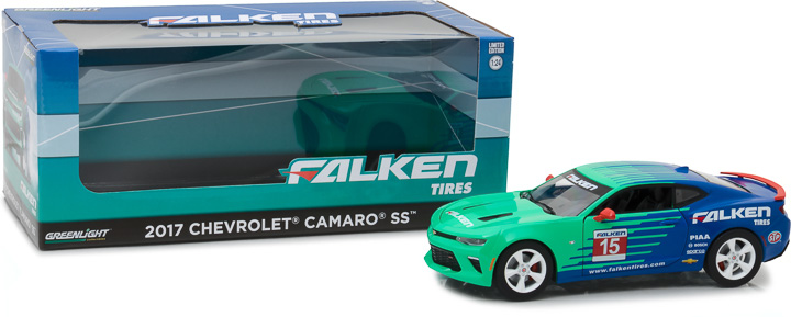 Greenlight 1/24 2017 Chevy Camaro - Falken Tires