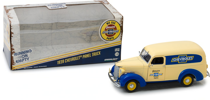 Greenlight 1/24 1939 Chevrolet Panel Truck - Chevrolet Parts