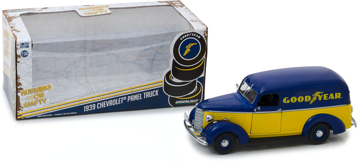 Greenlight 1/24 1939 Chevrolet Panel Truck - Goodyear Tires