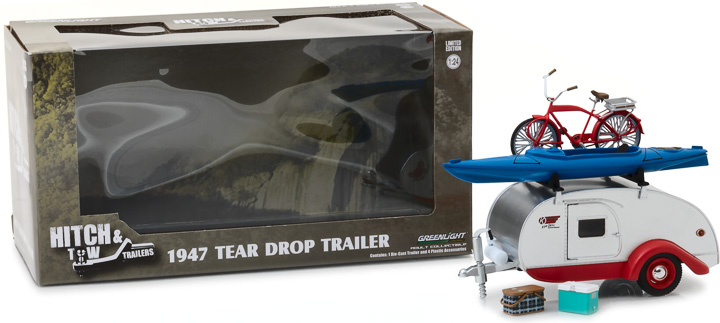 Greenlight 1/24 Teardrop Trailer
