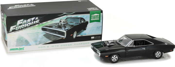 Greenlight 1/18 Artisan Collection - Fast & Furious 1970 Charger