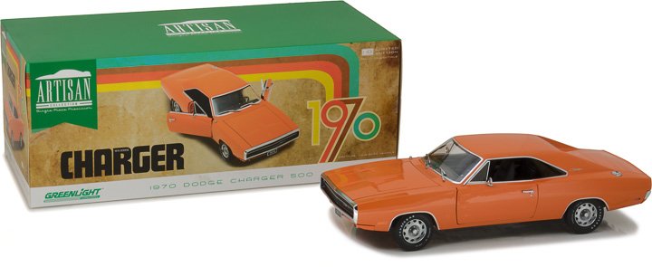 Greenlight 1/18 Artisan Collection - 1970 Dodge Charger - HEMI O