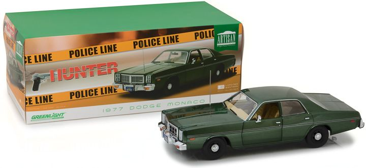 Greenlight 1/18 Artisan Collection Hunter (1984-91 TV Series) -