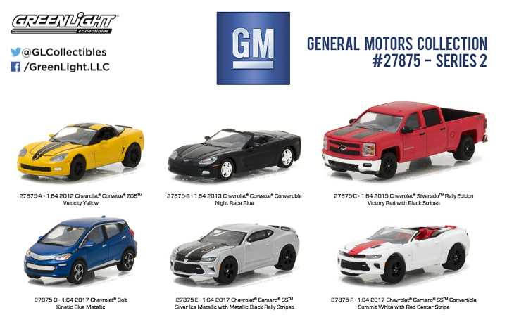 Greenlight 1/64 General Motors Collection Series 2
