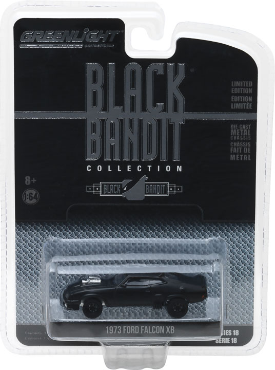 Greenlight 1/64 Black Bandit Series 18 - 1973 Ford Falcon XB (Fl