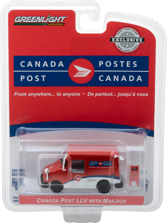 Greenlight 1/64 Canada Post Long-Life Postal Delivery Vehicle