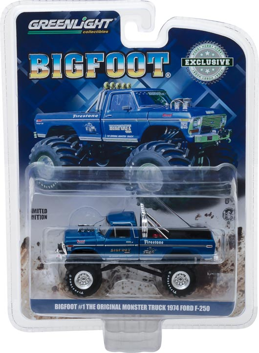 Greenlight 1/64 Bigfoot #1 The Original Monster Truck (1979) - 1