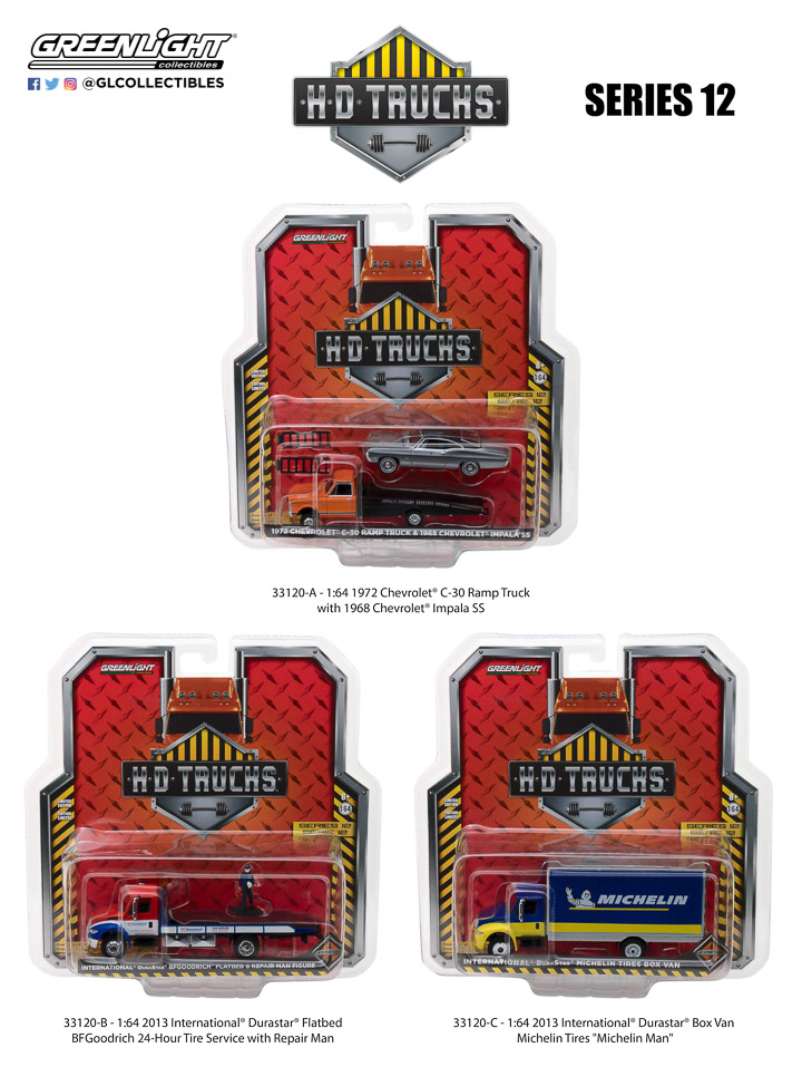 Greenlight 1/64 S.D. Trucks Series 12 (6)