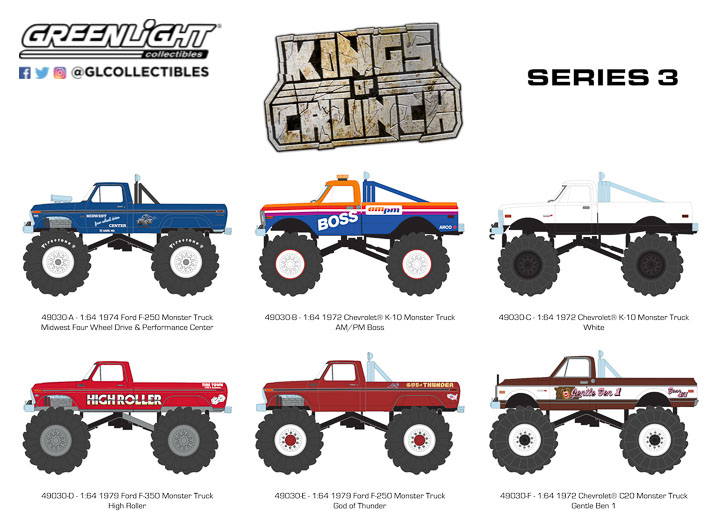 Greenlight 1/64 Kings of Crunch Series 3 (6)