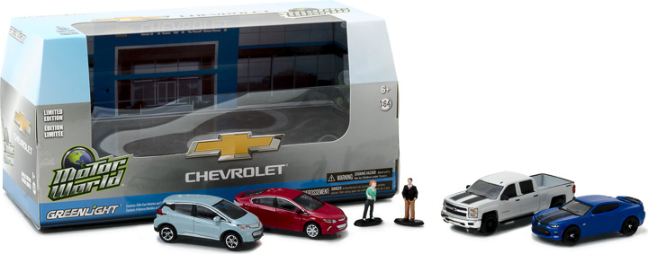 Greenlight 1/64 Multi-Car Diorama - Modern Chevrolet Dealership