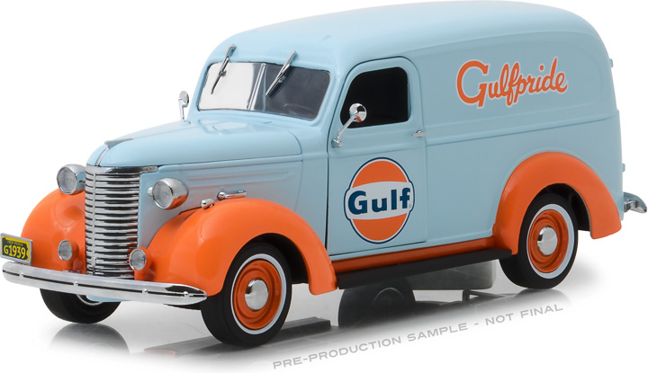Greenlight 1/24 Running on Empty - 1939 Chevrolet Panel Truck -
