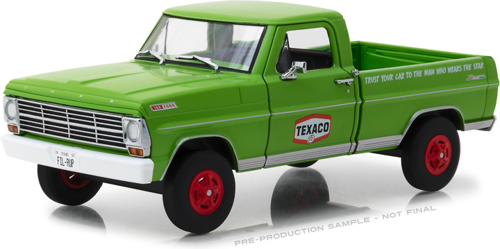 Greenlight 1/24 Running on Empty - 1967 Ford F-100 - Texaco Moto