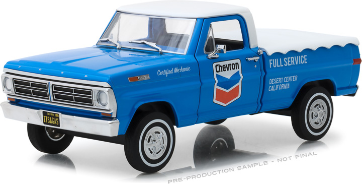 Greenlight 1/24 Running on Empty - 1972 Ford F-100 with Bed Cove
