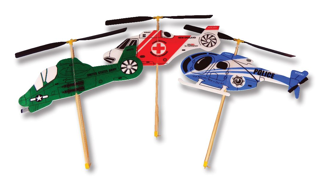 Guillows Rubber Band Powered Toy Helicopter (24)