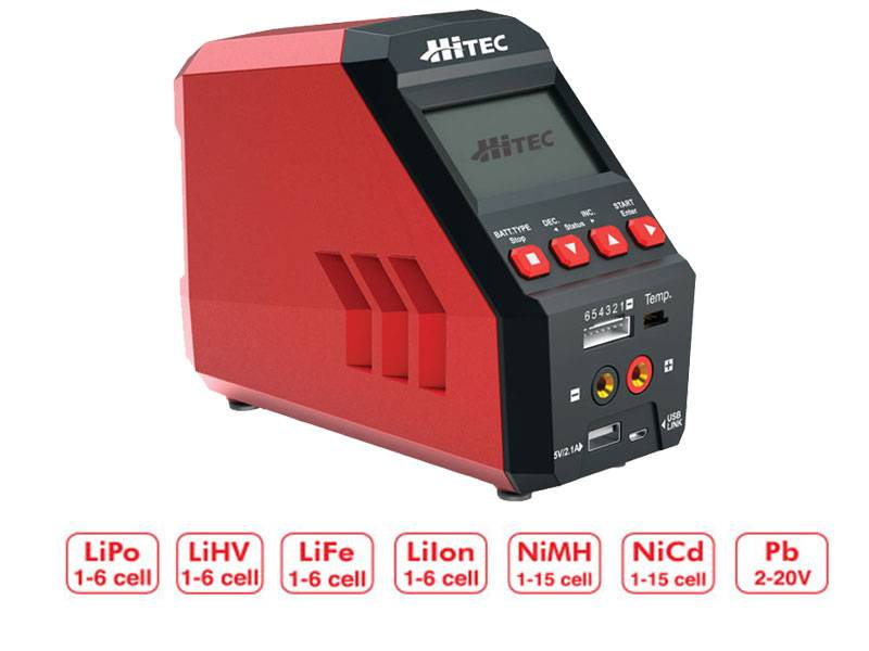 Hitec RDX1 Pro Battery Charger