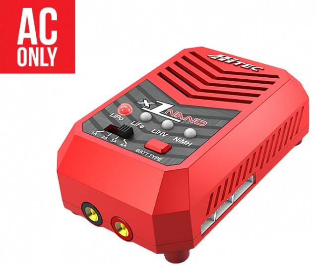 Hitec X1 Nano - Multi-Chemistry Battery Charger