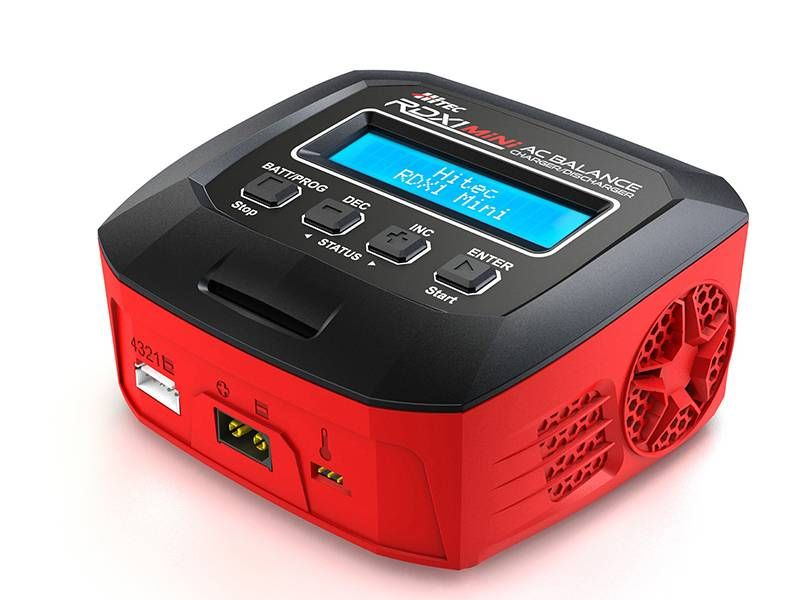 Hitec RDX1 Mini 65 Watt Single Port AC Charger