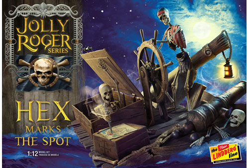 Jolly Roger Series: Hex Marks the Spot 1/12 Model Kit (Level 2)