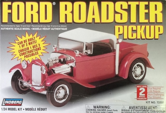 Plastic 1/24 34 Ford Roadster pick up