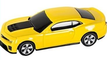 Chevrolet Camaro Yellow 8GB USB 2.0 Flash Drive