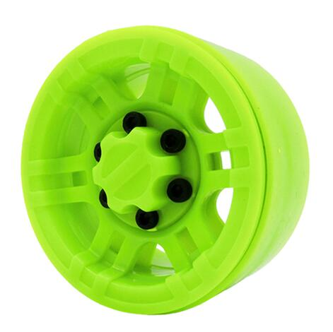 "Wheels 1.9"" Beadlock, Plastic, Green (4)"