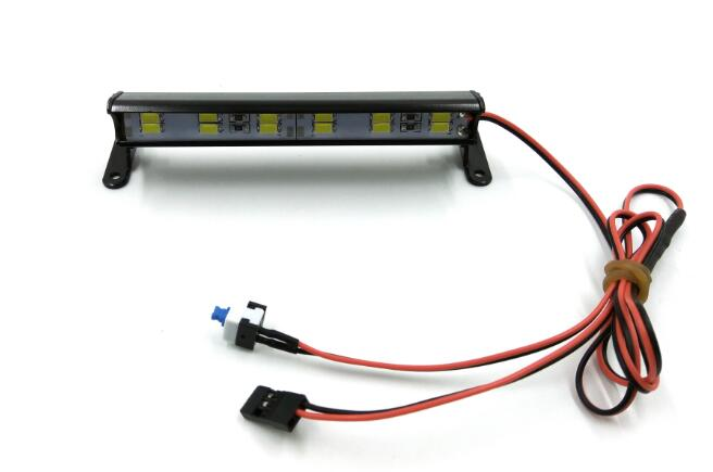 Light bar, 12 LED, High voltage (11-14V), Aluminum housing