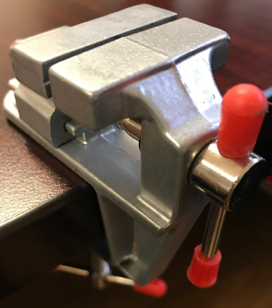 Aluminum Alloy Table Bench Vise (Small)