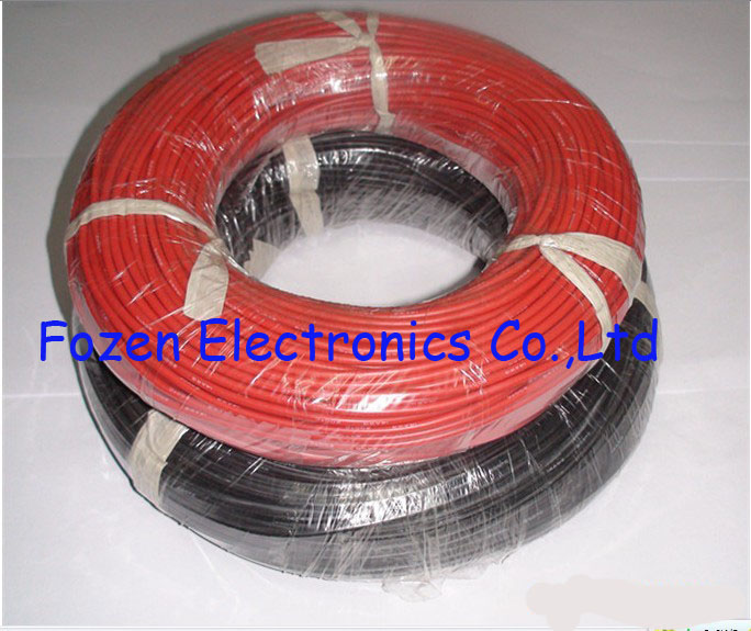 Wire 12AWG Silicone black 25FT roll