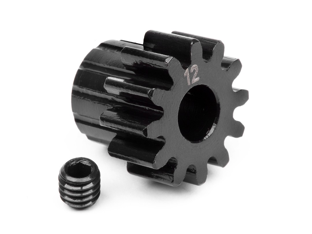HPI Pinion Gear 12 Tooth (1M/5Mm Shaft)