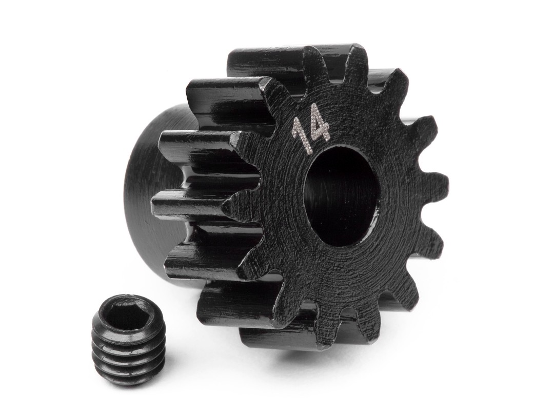 HPI Pinion Gear 14 Tooth (1M/5Mm Shaft)