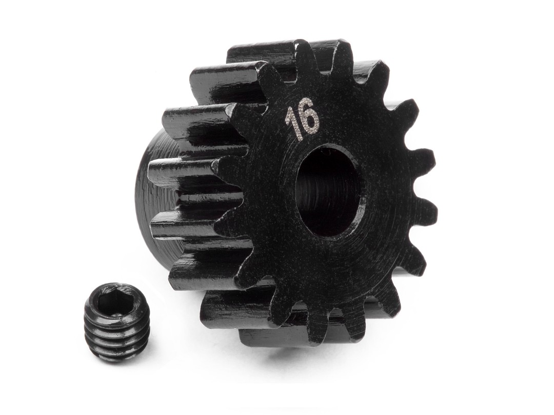 HPI Pinion Gear 16 Tooth (1M/5Mm Shaft)