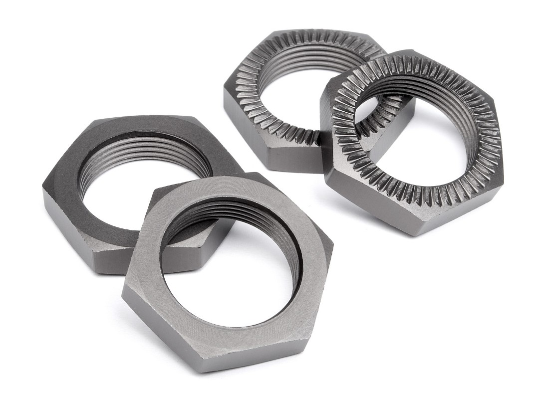 HPI Wheel Nut 24Mm (Gunmetal/4Pcs)