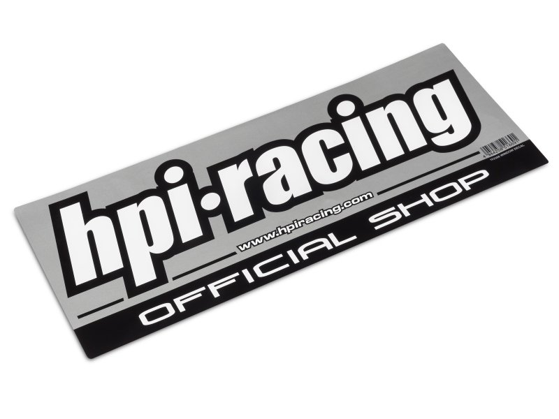 HPI Official Shop Window Decal