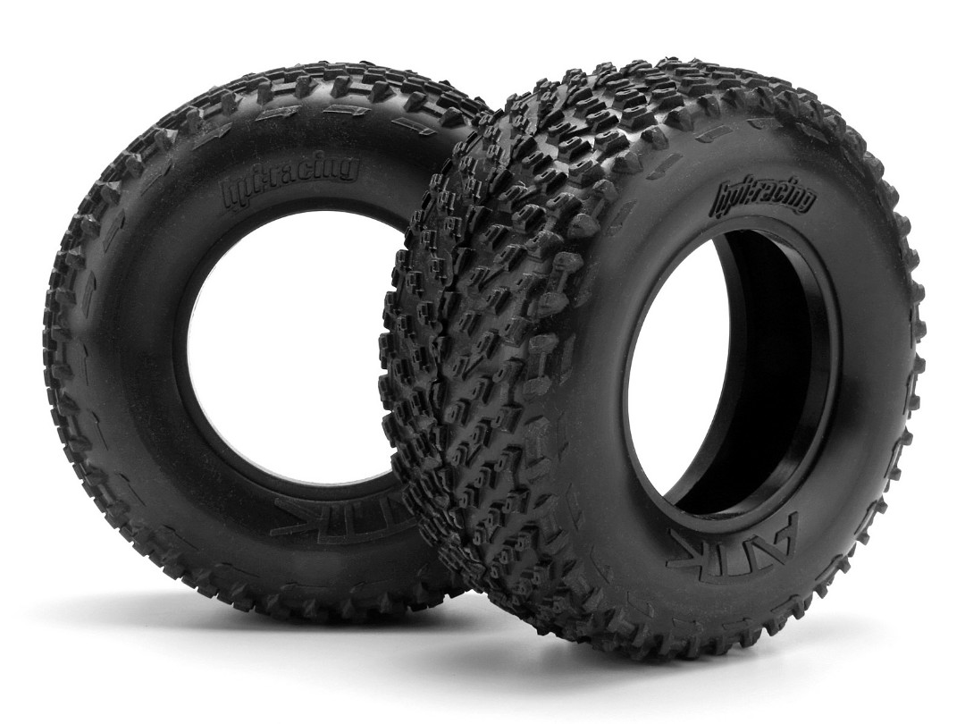 HPI Attk Belted Tire D Compound (2Pcs)