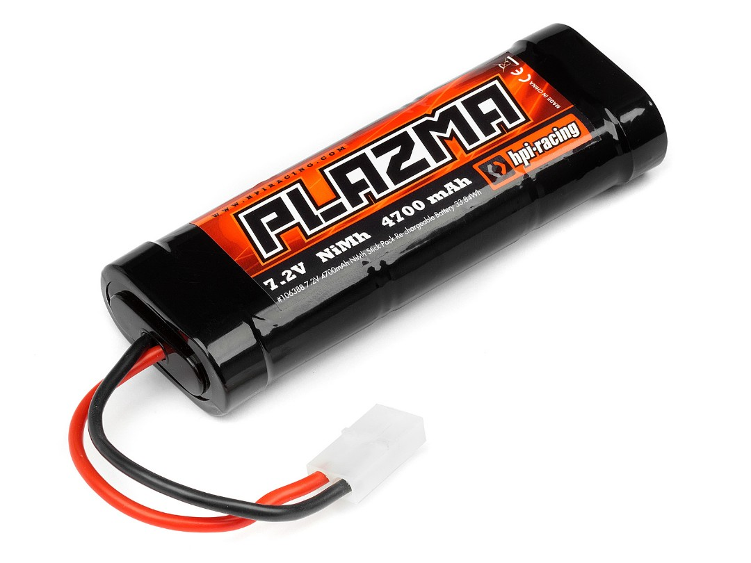 HPI Plazma 7.2V 4700Mah Ni-Mh Battery Pack 33.84Wh