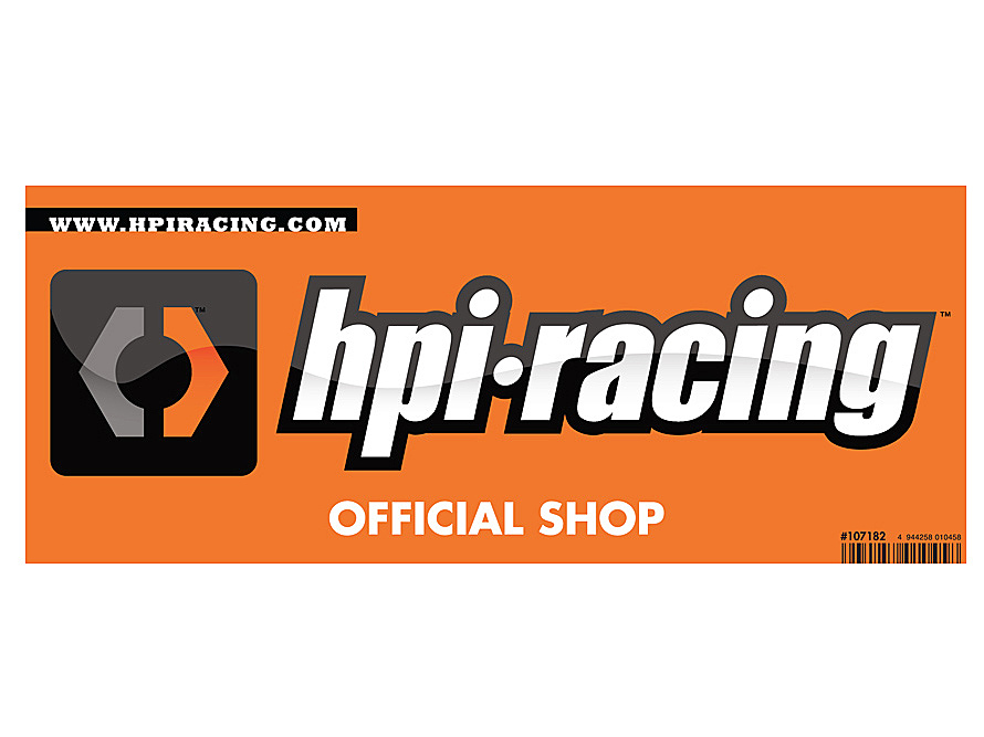 HPI Logo Small Window Sticker - Double Sided