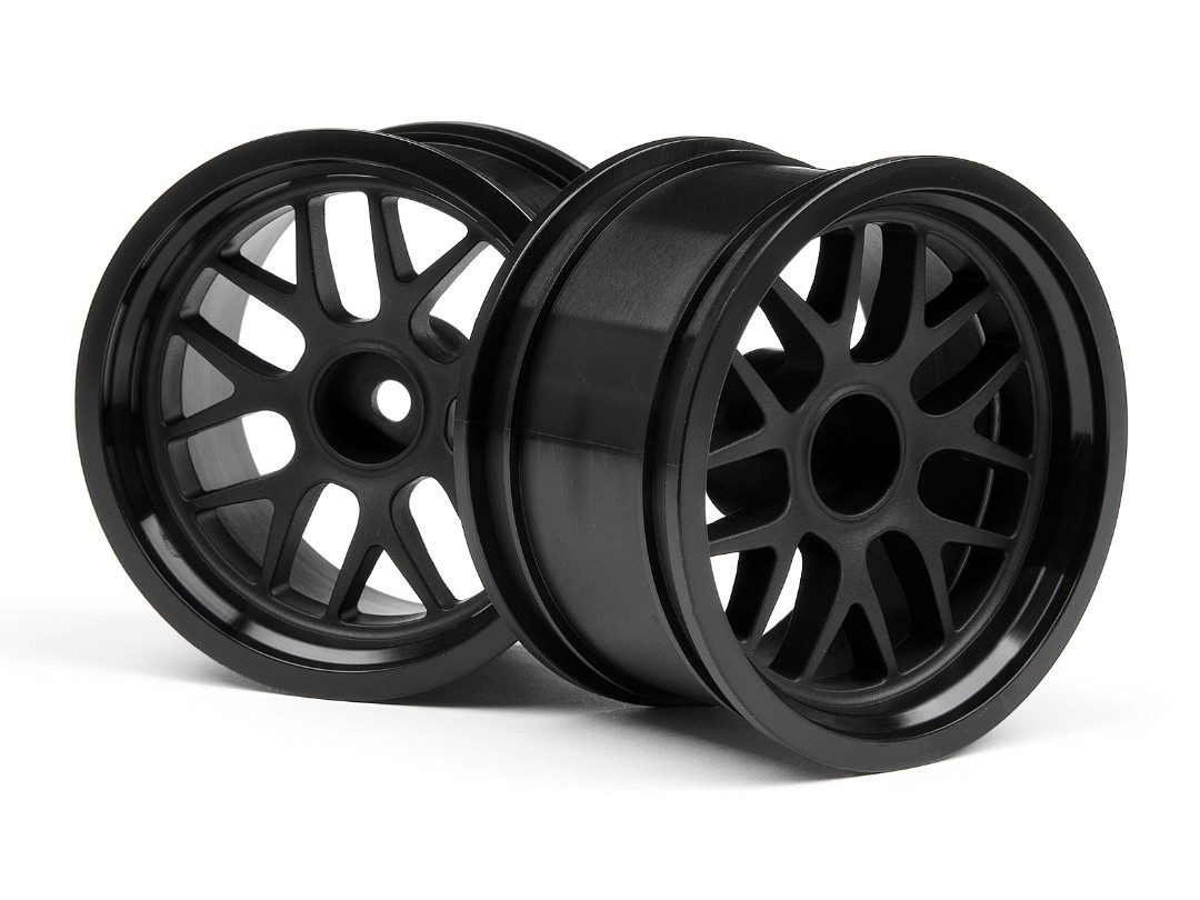 HPI Bbs Spoke Wheel 48X31Mm Black (9Mm Offset/2Pcs)